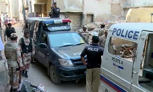 Four terrorists dead as Rangers speed up operation in Karachi