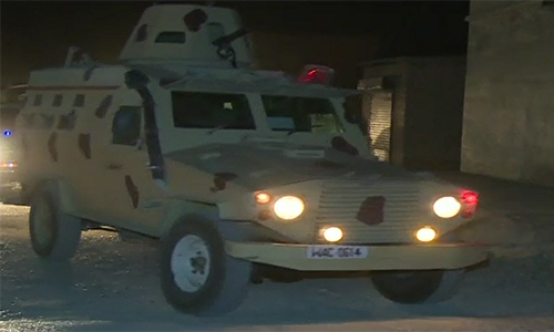 Three terrorists killed in security forces' operation in Awaran