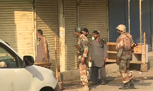 Four target killers involved in attacks on police arretsed
