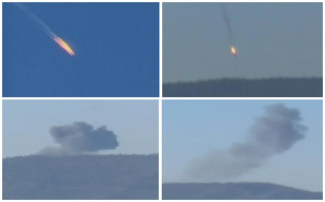 Turkey downs Russian warplane near Syria border, Moscow denies airspace violation