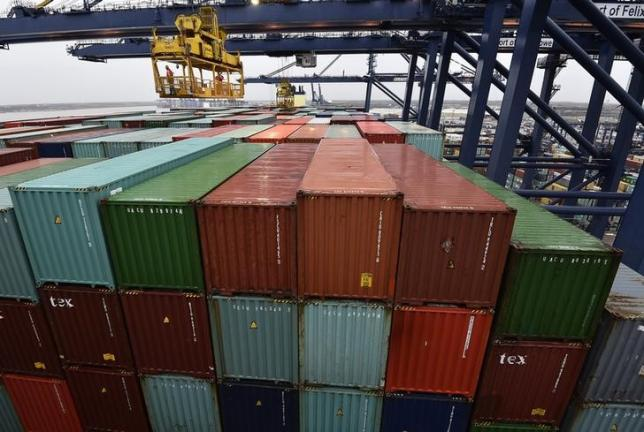 UK third-quarter growth unrevised, trade poses biggest drag on record