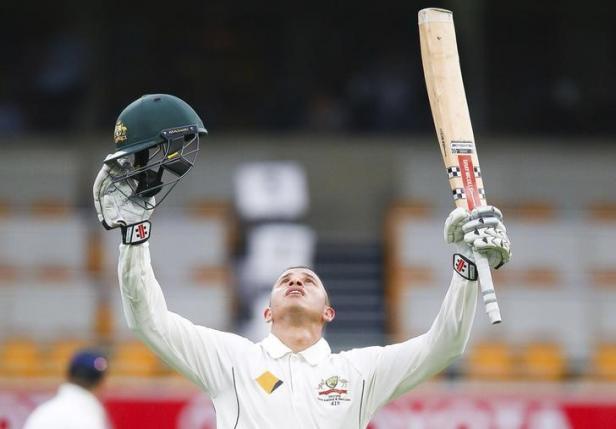 Pacemen Usman Khawaja put Australia in charge against New Zealand