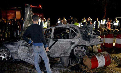 Bomb blast in northeast Lebanon kills nine