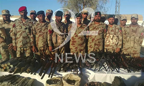 Terrorism plan foiled by FC in Chaghi