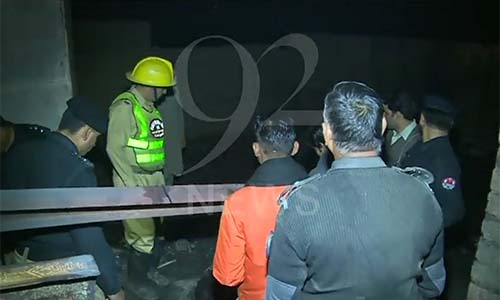 Five burnt alive as fire erupts in girder factory near Lahore Ghurki Hospital