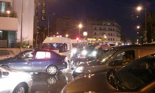 At least 11 dead in attack on Tunisia military bus