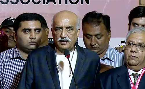 Time for martial law has passed, says Khurshid Shah