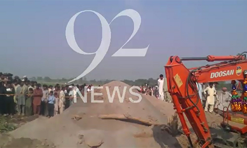 Two kids buried alive in Shujabad