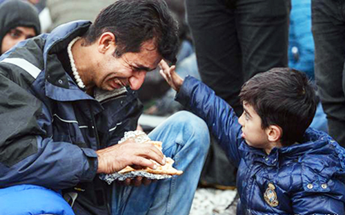 Migrant Pakistanis face painful situation at European border