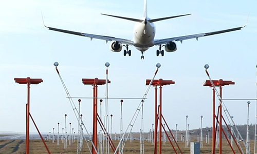 Instrument Landing System installed at Lahore Airport