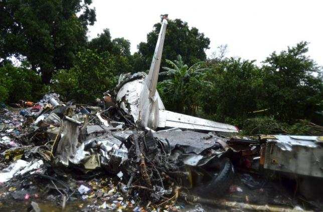 Plane crashes in South Sudan, witnesses say dozens killed
