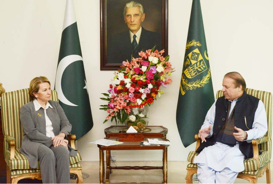 Elimination of terrorists inevitable for world peace, says PM Nawaz Sharif