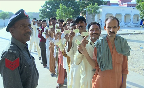 Polling for 2nd phase of LG elections in Punjab and Sindh underway
