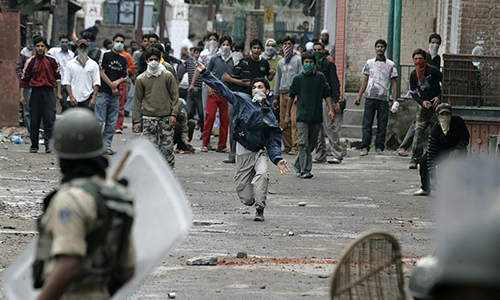 Kashmiris protest against martyrdom of three freedom fighters in Indian Held Kashmir