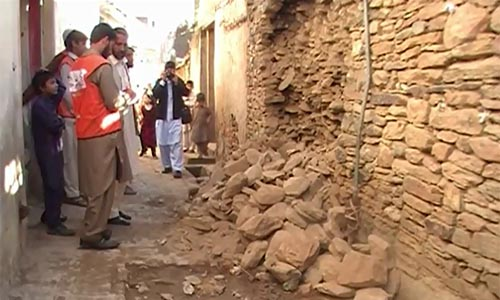 Earthquake measuring five on Richter Scale jolts Swat, Chitral & Shangla