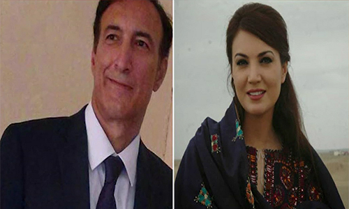 Dr Ijaz Rahman serves Rs 100m defamation notice on ex-wife Reham Khan