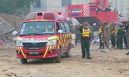 Death toll in Sundar Industrial Estate tragedy increases to 46