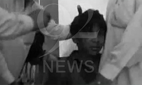 Seven students injured as school wall collapses in Badin