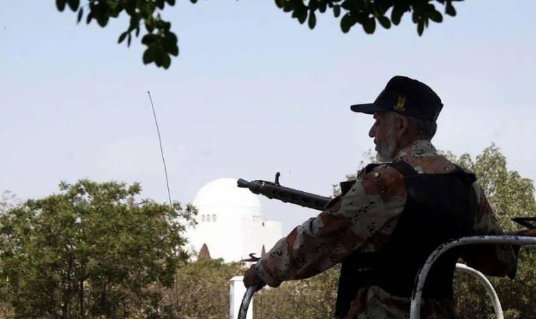 Security beefed up at Mazar-e-Quaid