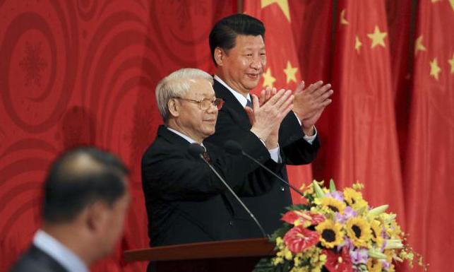 Vietnam talks trust with China, invites Japanese warship