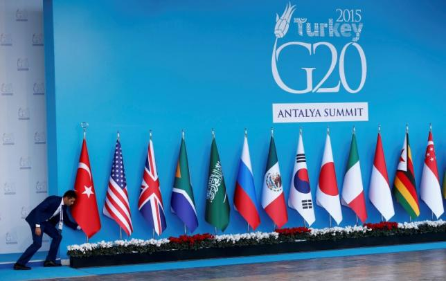 Fight against Islamic State dominates as world leaders meet in Turkey