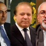 Iranian, Turkish FMs meet PM Nawaz Sharif