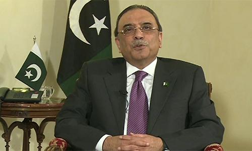 Sindh has been invaded in name of law & order, says Asif Ali Zardari