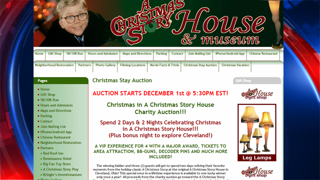 cleveland fans of a christmas story will start the bidding for the chance to celebrate the season by staying in the cleveland house made famous by the - When Was Christmas Story Made