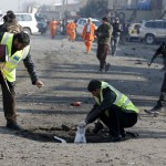 One killed, 13 wounded in Kabul suicide attack