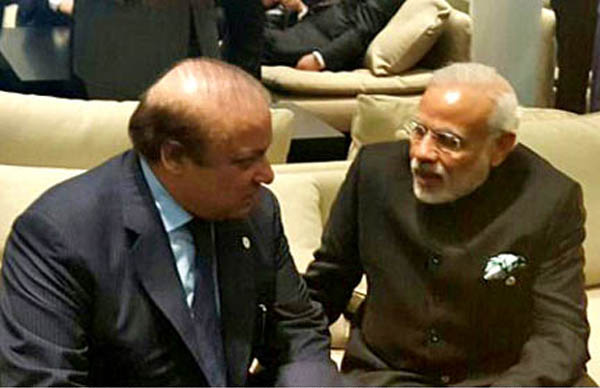 Indian PM wants to improve relations, says PM Nawaz Sharif