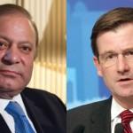 US Ambassador David Hale calls on PM Nawaz Sharif