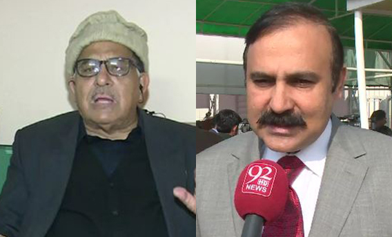 Party leaders hatched conspiracies against me, says PML-N's Zafar Shah