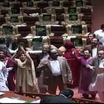 Sindh Assembly session adjourned because of ruckus