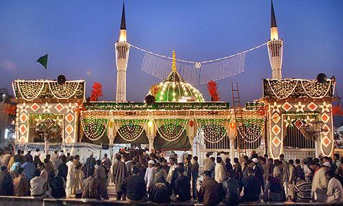 972nd Urs of Hazrat Data Gunj Bukhsh (Rehmatullah Alaih) begins today