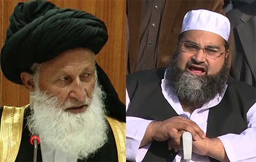 Maulana Sherani, Ashrafi quarrel during CII meeting