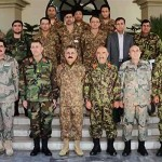 Afghan National Army delegation visits Peshawar Corps Headquarters