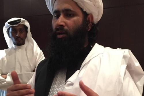 Mohammad Naim Wardak a Taliban delegation member