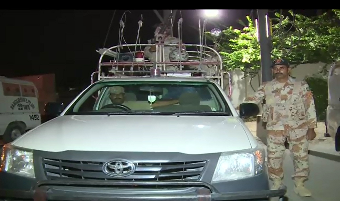 Two terrorists held in Rangers' surgical operation
