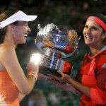 Hingis and Mirza win Australian Open doubles title