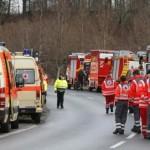 Ten dead, over 80 hurt in train crash in Bavaria