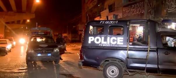 suspects, operation, Karachi police