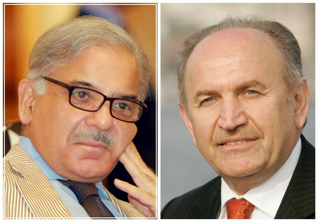 Istanbul Mayor Dr Kadir Topbaş meets Punjab CM Shahbaz Sharif