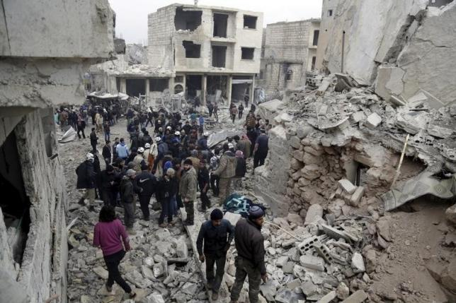 Syrian opposition agrees to two-three week truce if Russia stops air strikes