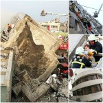 Three dead as buildings collapse after 'enormous' 6.4 magnitude Taiwan earthquake