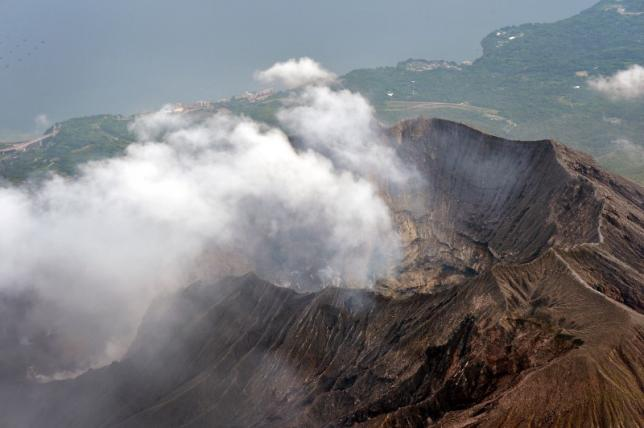 Japanese volcano erupts, nearby nuclear plant unaffected