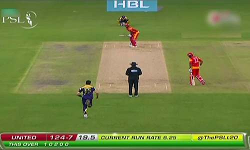 Islamabad United set 129-run target against Quetta Gladiators in PSL opening match