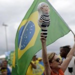 Thousands of Brazilians protest to demand Rousseff's exit