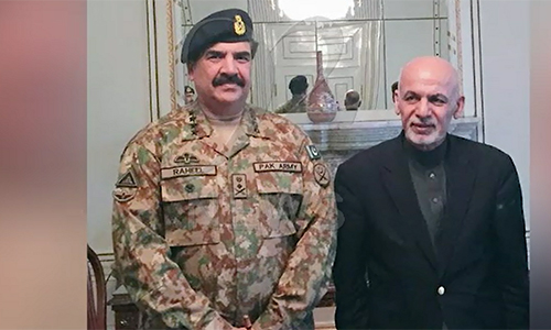 COAS General Raheel Sharif reiterates all-out support for peace in Afghanistan