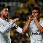 Casemiro scores first goal for Real to snatch late win