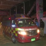 Fire breaks out at thread warehouse in Karachi